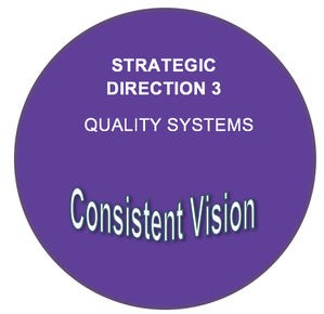 Strategic direction 3: Quality systems